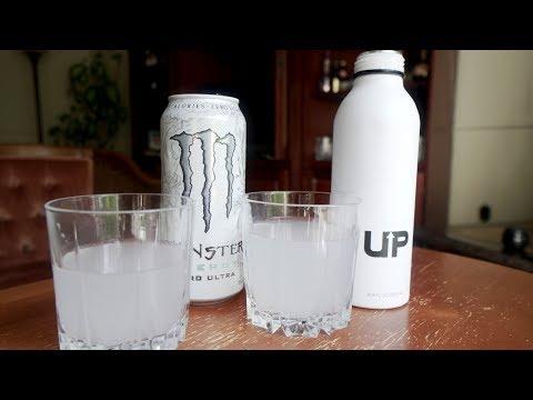Up Energy Drink Guzman vs Monster Review & Taste Test