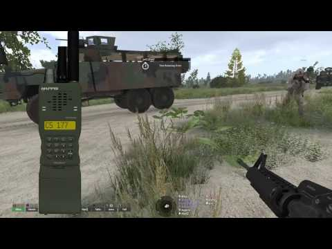 ARMA Finland, First contact, Part 1: Kosovo conflict