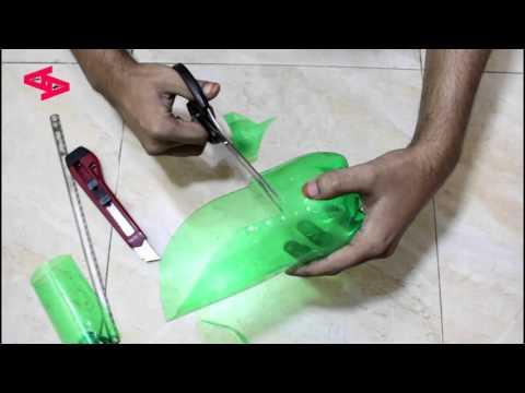 Homemade dildo plastic hanger