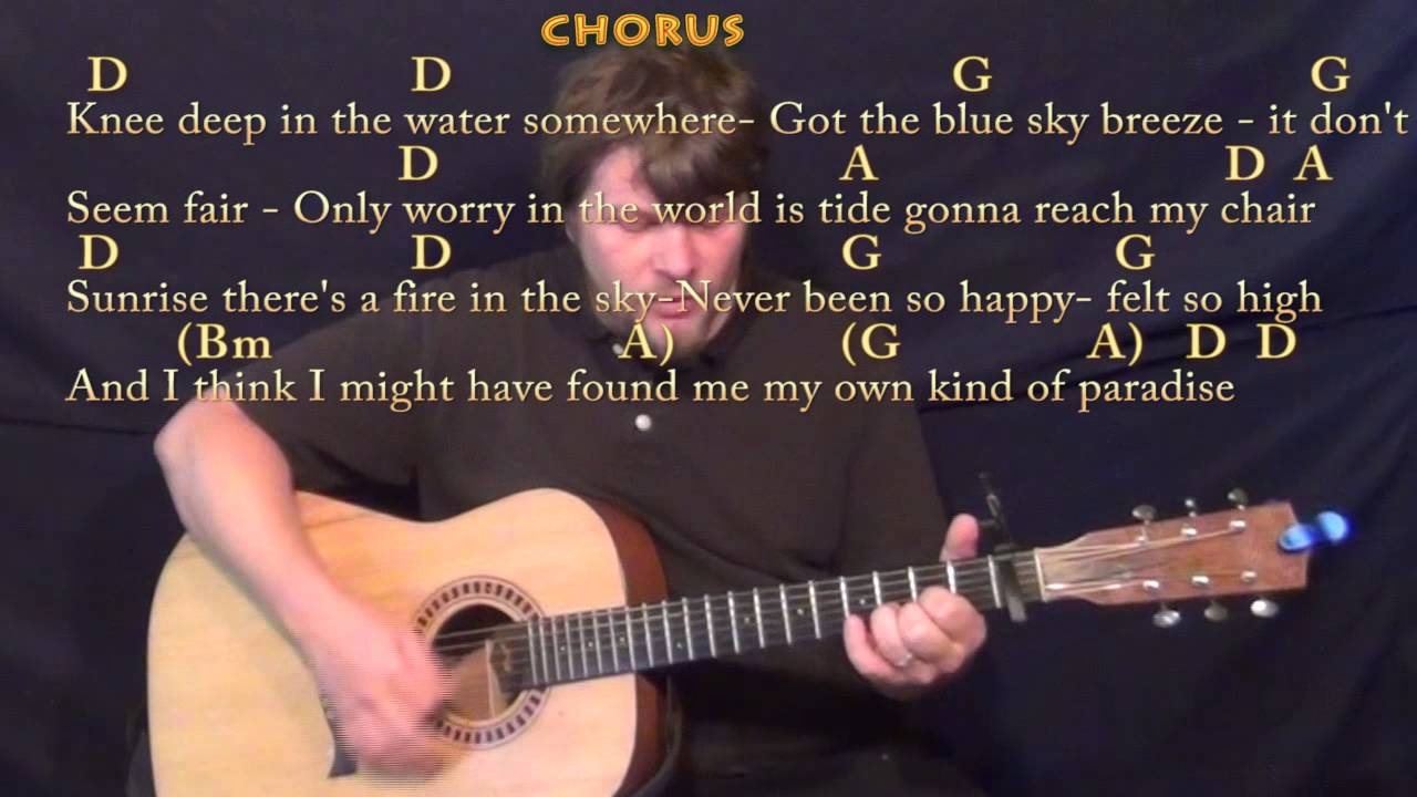Knee Deep Zac Brown Strum Guitar Cover Lesson With Chordslyrics