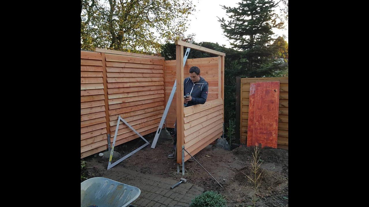 Sichtschutz Terrasse Holz Selber Bauen Sichtschutz Bauen Mit