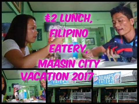 Maasin City | Lunch With My Brother | Filipino Eatery | Philippines Vacation 2017
