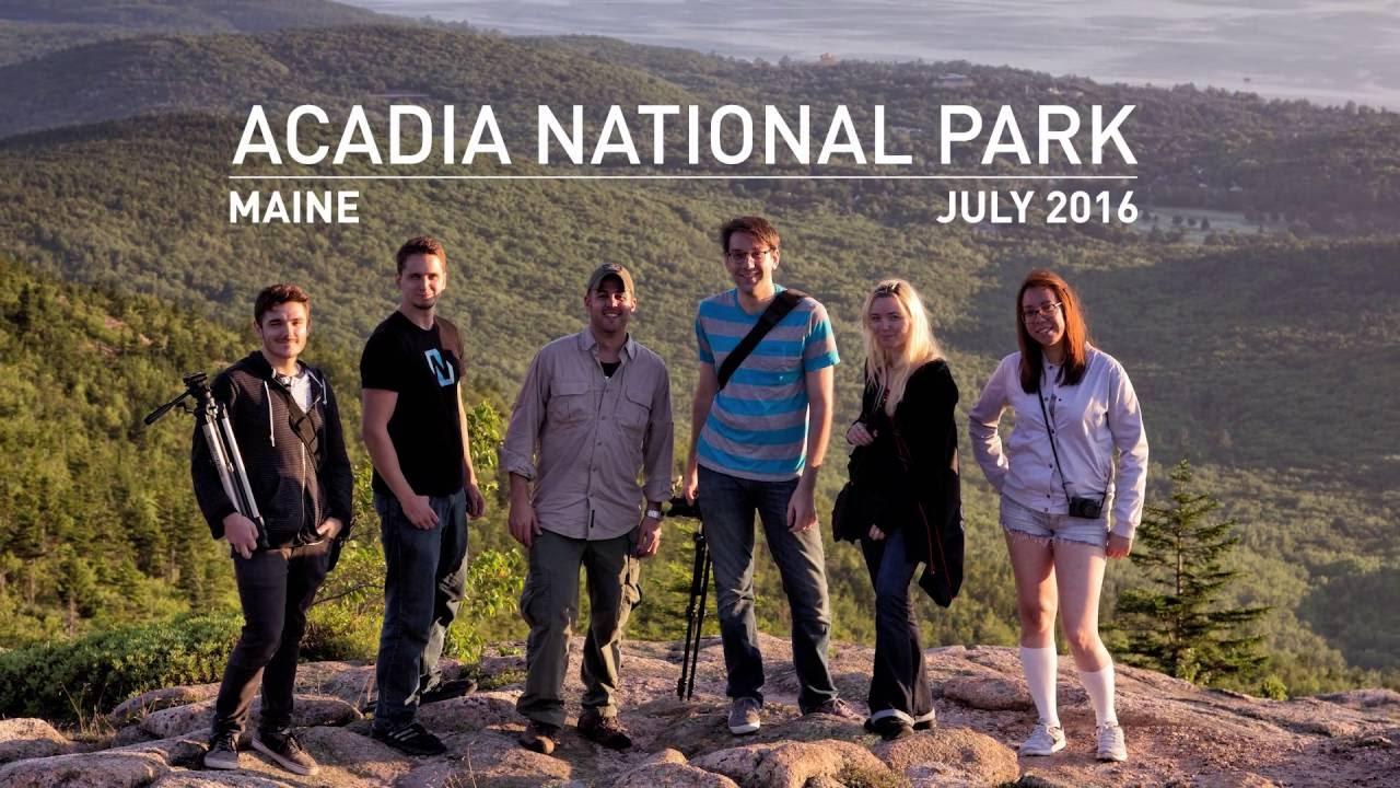 Acadia National Park Cadillac Mountain Trip Maine July 2016 Sony Rx10 Ii