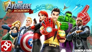 MARVEL Avengers Academy - iOS/Android - Gameplay Video