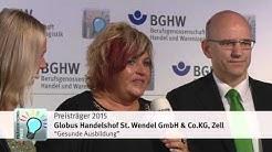 BGHW Präventionspreis 2015: Highlights