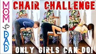 CHAIR TIKTOK CHALLENGE CENTER OF GRAVITY ONLY WOMEN CAN DO #CHAIRCHALLENGE #CHAIRTIKTOK