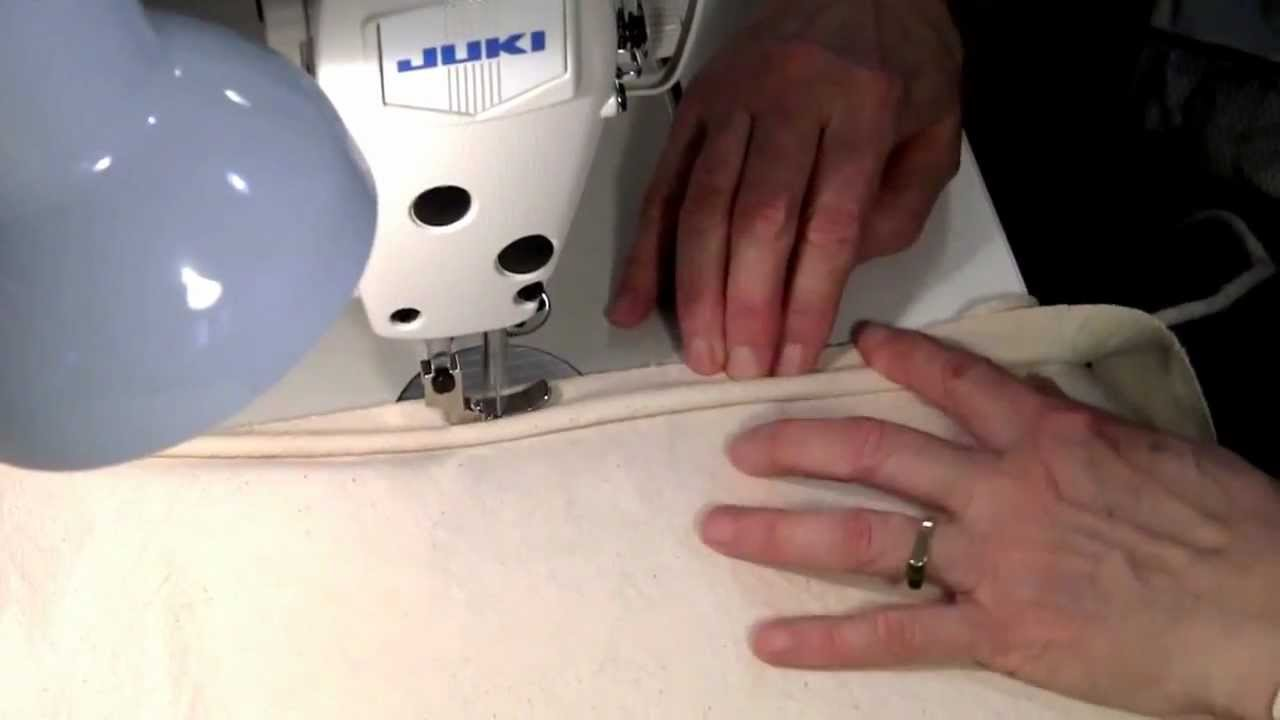 How To Sew Piping In One Step Youtube