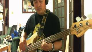 LET YOUR LOVE FLOW  Bass Cover