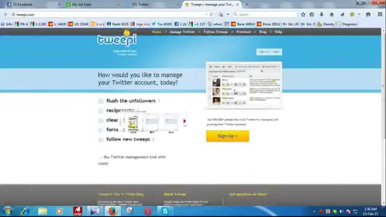 How To Increase your Twitter Followers for Free !!