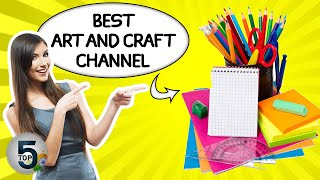Best Arts And Crafts Youtube Channels