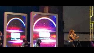 IYO performing Loving You ft Diamond Platnumz at Ghana Meets Naija concert
