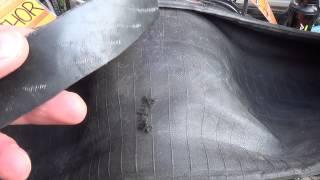 Zašívání pláště - RADÍ ŠTĚRBA KOLA