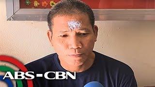 TV Patrol: Abong nakapaso nang pinang-krus sa noo, sinusuri ID