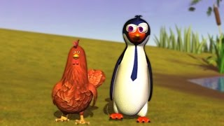 El Pingüino y la Gallina - La Granja de Zenón 3