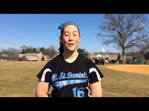Watch: Mount St. Dominic pitcher Kelsey Oh talks about 15-strikeout performance