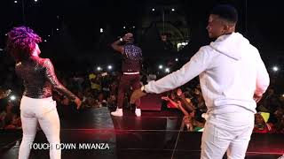 Harmonize Live Performance in MWANZA Tanzania Part 1