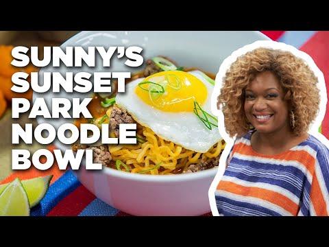 Sunny's Sunset Park Noodle Bowl | Food Network