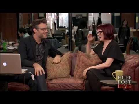 Megan Mullally on HuffPost Live, October 16, 2014.