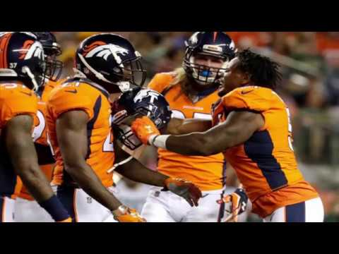 Tempers flare between Broncos defensive players Aqib Talib, Todd Davis in game vs. Packers