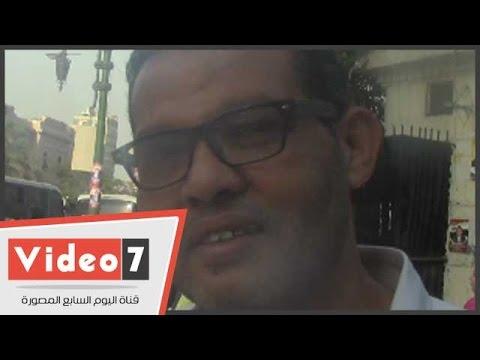 اليوم السابع : بالفيديو.. مواطن: «الشعب المصرى غير مهتم بحل مشاكل البلد»