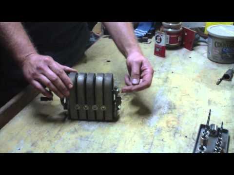 Antique telephone magneto or generator.
