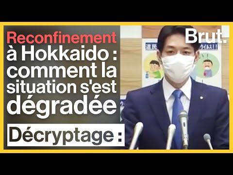 Reconfinement à Hokkaido: comment la situation s'est dégradée