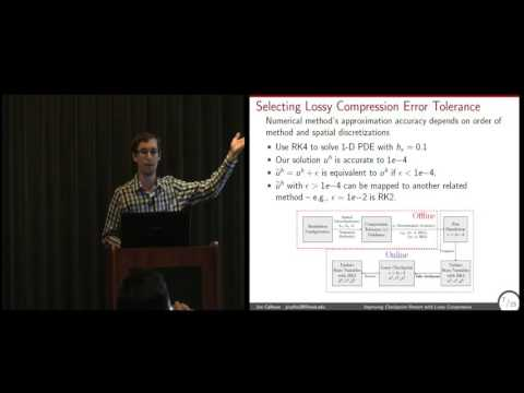Improving Checkpoint-Restart with Lossy Compression -- Jon Calhoun