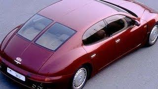 #13. Bugatti-eb 112 1993 (Prototype Car)