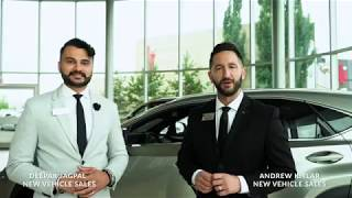 Luxury Meets Luxury at Lexus of Edmonton West.