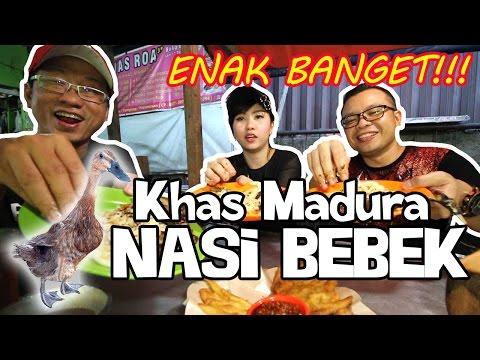 enak-banget!!!-makan-nasi-bebek-pakai-serundeng-dan-sambal-ijo-ft.-rhea-aenea