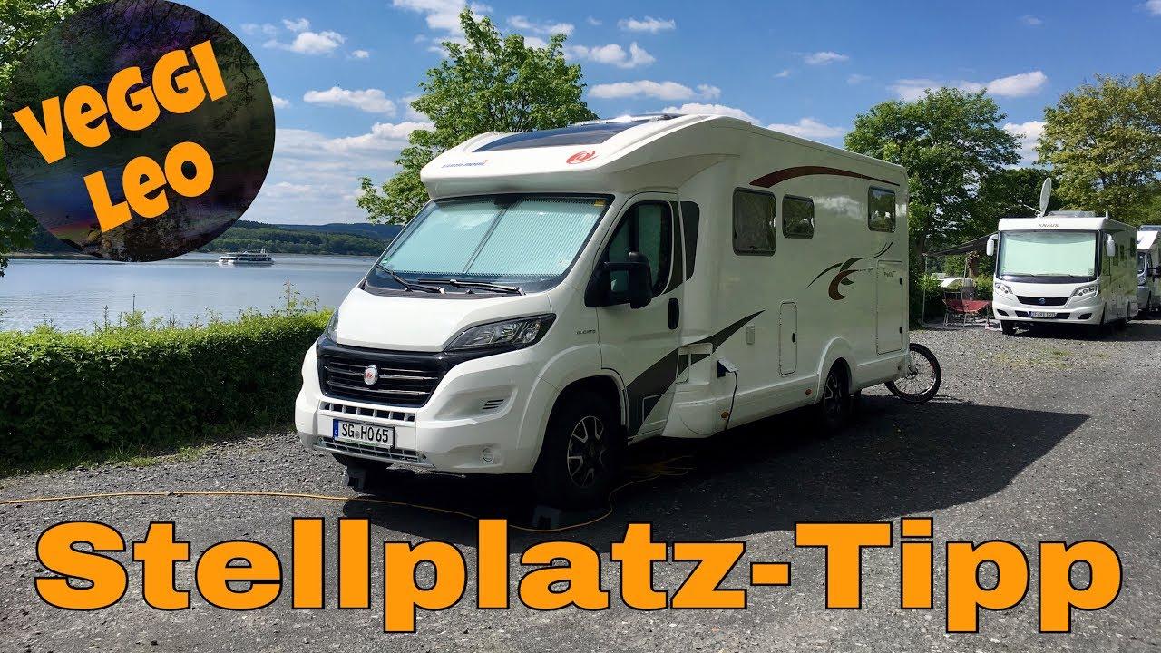 Wohnmobil-Stellplatz-Tipp Möhnesee  NRW  Deutschland