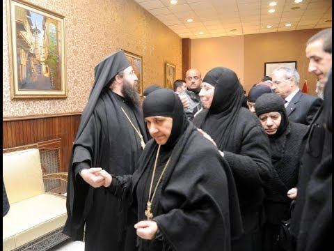 Syria News 10/3/2014, President al-Assad met governors, Released nuns arrive in Damascus