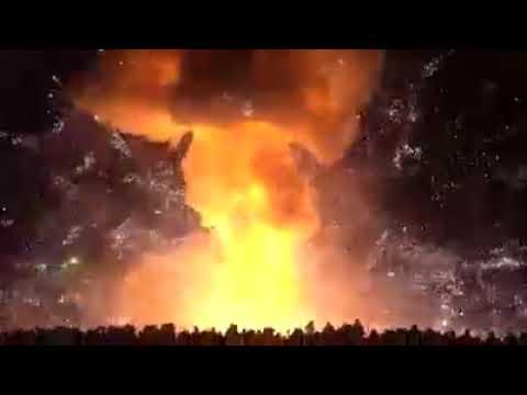 Khong Ming Lantern Explode in Festival Myanmar | Few People Injured | Burma | 2018 | Viral