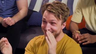 shayne topp laughs for 3 and a half minutes straight
