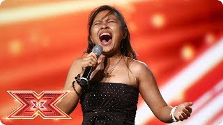 Alisah Bonaobra soars into the next round Boot C The X Factor 2017
