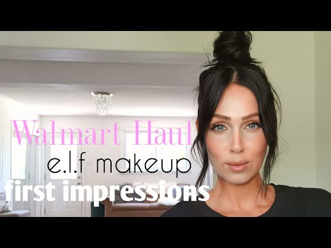 Walmart Haul & First Impressions E.l.f And Physician's Formula, OOTD Try On Dynamite Clothing