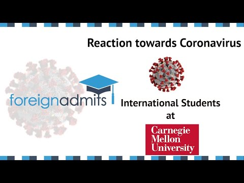 How Coronavius Will Impact on International Students? Ep19- Carnegie Mellon University