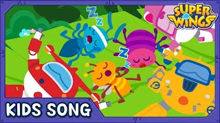 Itty Bitty Bug Song | Kids Songs | Nursery Rhymes | Super Wings Song