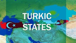 Turkic States   Türk Devletleri   Türk dövlətləri   Tүрік мемлекеттеры   Tуркcкие государства
