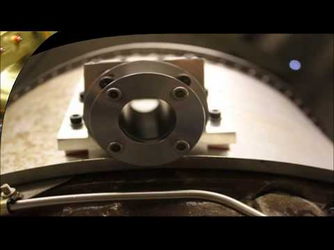 Inside a jet engine - measuring temperature through flames