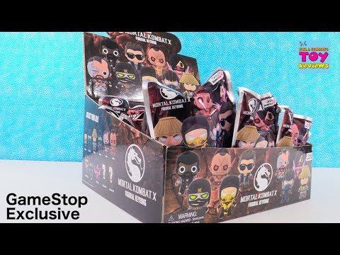 Mortal Kombat X Figural Keyrings Gamestop Exclusive Blind Bag Toy Review   PSToyReviews thumbnail