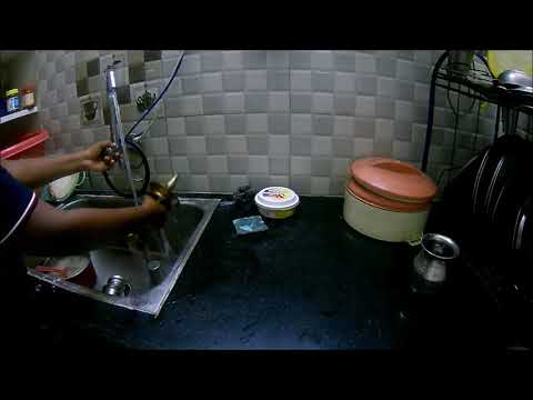Cleaning Tips # 2   How to Clean a Vilakku in Tamil   Kaushik Kavindra