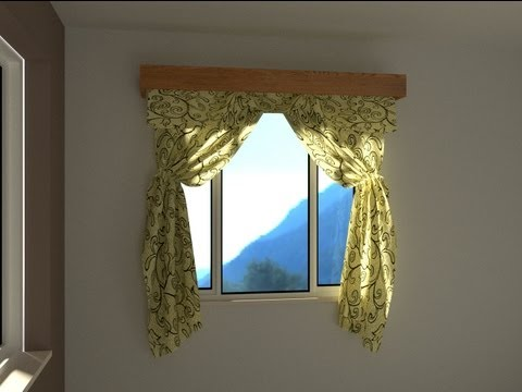 How to make curtains in Blender - UseTheBlender