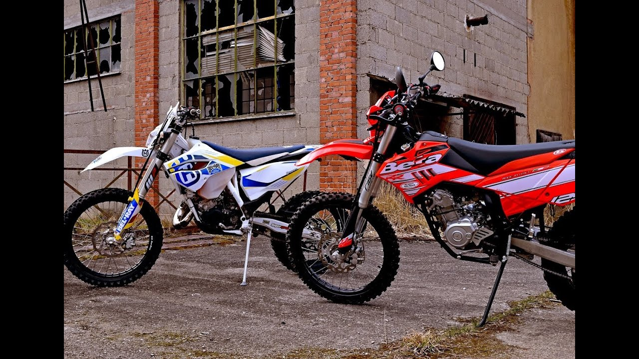 2016 beta rr 125 lc husqvarna te 125 fmf bikeporn youtube. Black Bedroom Furniture Sets. Home Design Ideas