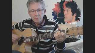 Apprendre la Guitare  Les Champs Elysée - Joe Dassin
