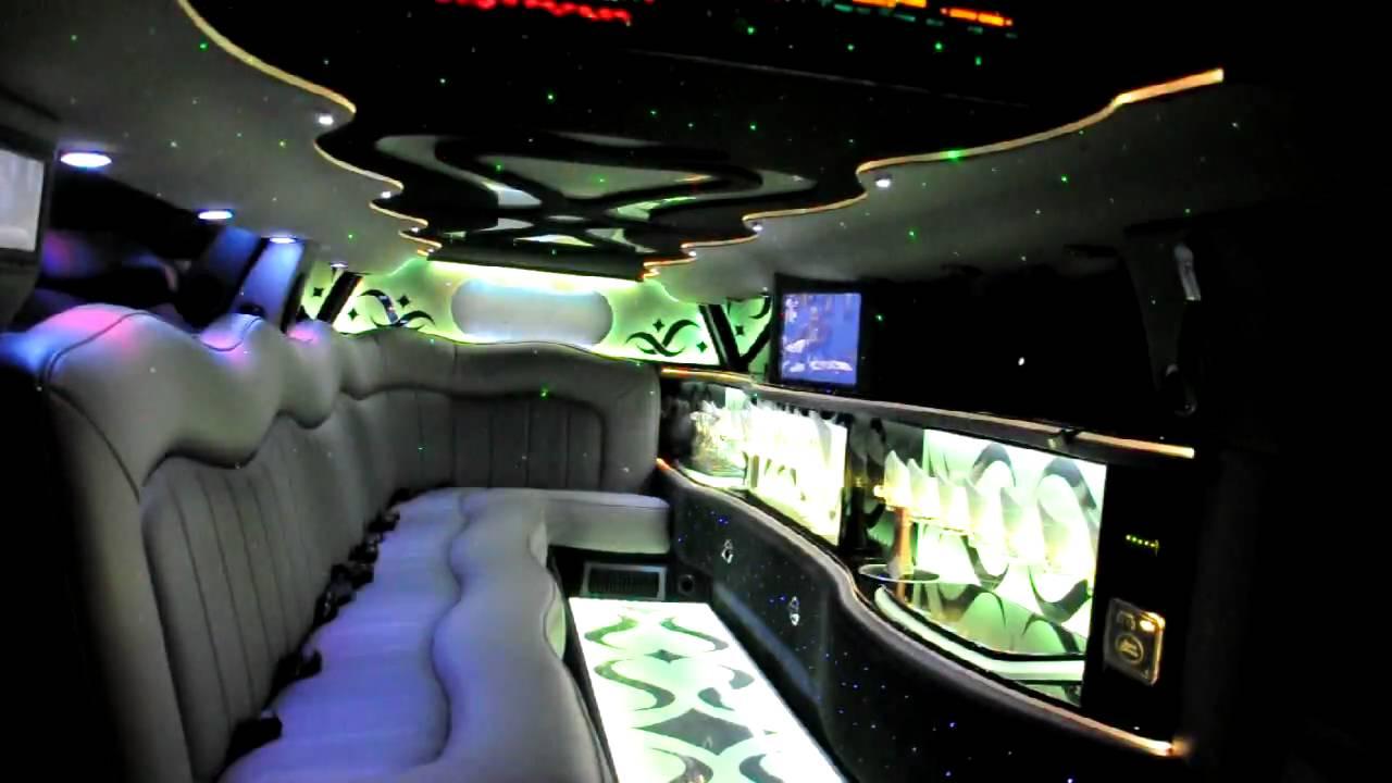 Limo 3 Chrysler 300 Stretchlimousine Innen 1 Youtube