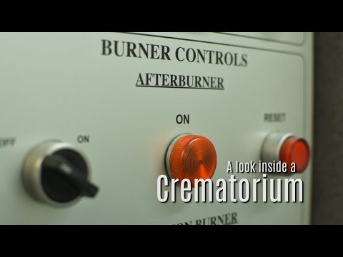 A look inside a crematorium