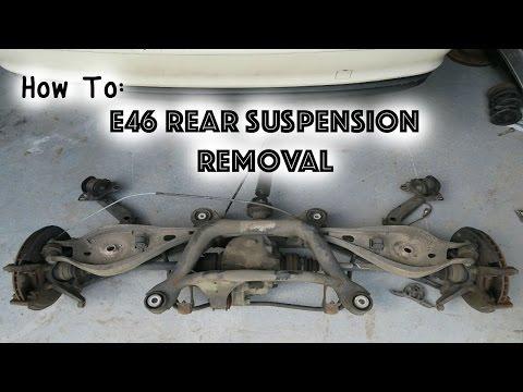 How To: Remove E46 Rear Suspension