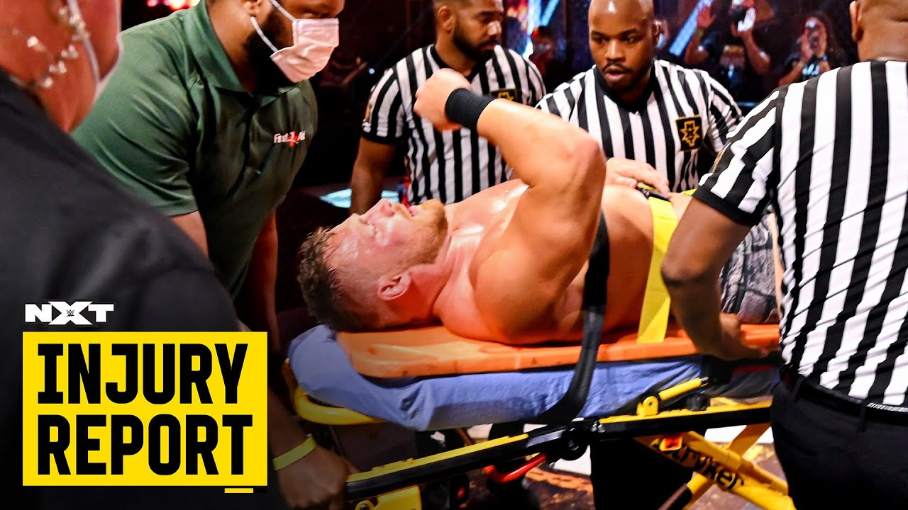 Updates on Ridge Holland and more: NXT Injury Report, Oct. 8, 2020