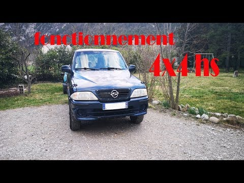 💥💥tuto Réparation Position 4x4 Ssangyong Musso📢📢